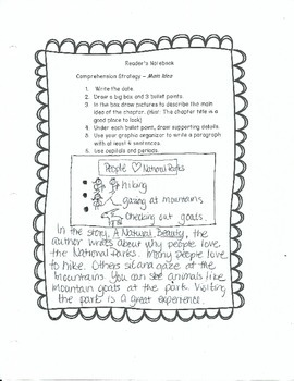 Reader's Notebook: A Student's Guide to Comprehension