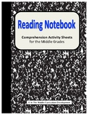 Reading Notebook Activities for Book Clubs and Guided Reading