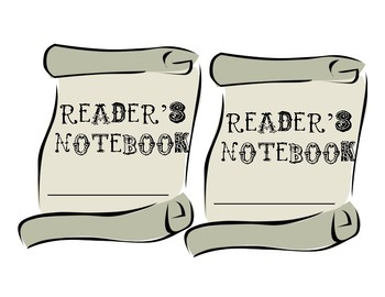 Reader's Theater Interactive Notebook Label