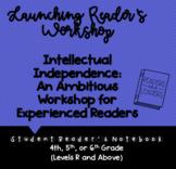 Reader's Notebook: Launching Reader's Workshop (Upper Elementary)