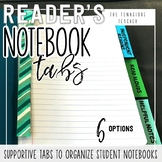 Reader's Notebook Tabs