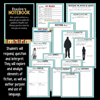 Reader's Notebook for any Text: An Interactive Digital Resource
