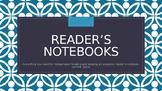 Reader's Notebooks