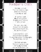 Reader's Oath Poem Poster, Chalkboard Classroom theme, Readers' Workshop