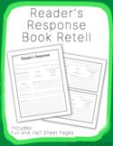 Reader's Response Journal Book Retell