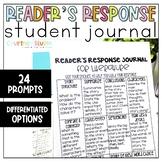 Reader's Response Journal: Grades 3-5