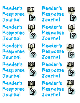 Reader's Response Labels