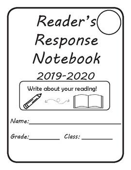 Reader's Response Notebook