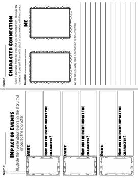 Reader's Response Printables & Graphic Organizers