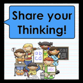 Reader's Response: Share Your Thinking