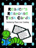 Reader's Response Task Cards