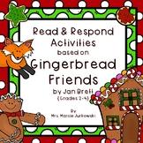 Reader's Response for Gingerbread Friends by Jan Brett