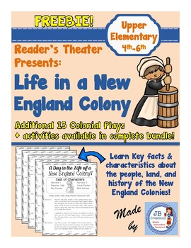 Reader's Theater:  13 Colonies-Life in a New England Colony!