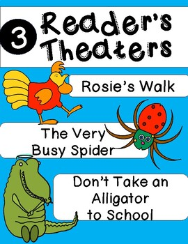 Reader's Theater: 3 Short Scripts for the Primary Classroom