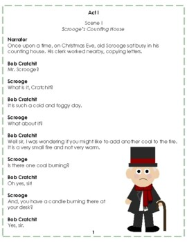 Reader's Theater: A Christmas Carol