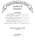 Reader's Theater: A Series of Unfortunate Events (PDF)
