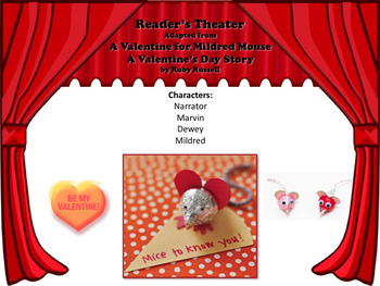 Reader's Theater A VALENTINE FOR MILDRED MOUSE - A Wacky Valentine's Day Story!!