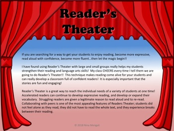 Reader's Theater BUNDLE - THE FIRST 10 PRESIDENTS OF THE US - Great Nonfiction!