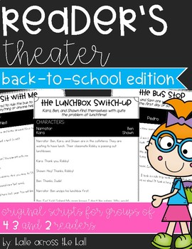 Reader's Theater Back-to-School