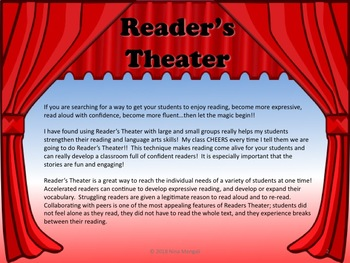 Reader's Theater Black History Bundle Set 1 - 5 Scripts - Great Non-Fiction!