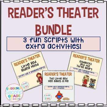 Reader's Theater Bundle- 3 Fun Scripts for Fluency Practice!