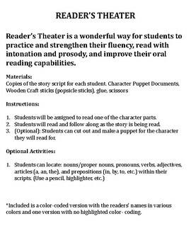 Reader's Theater Winter
