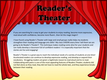 Reader's Theater DOES MY TEACHER LIVE AT SCHOOL? - Great for End of Year!!