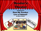 Reader's Theater DOES MY TEACHER LIVE AT SCHOOL? - Great f