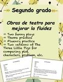 Reader's Theater - Dos obras de teatro (Fluency and Theme Activity)
