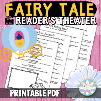 Reader's Theater - Fairy Tale Scenes and Skits