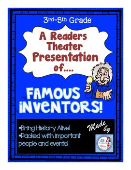Reader's Theater: Famous Ohio Inventors!  (intermediate le