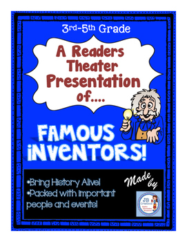 Reader's Theater: Famous Ohio Inventors!  (intermediate leveled reading scripts)
