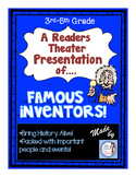 Reader's Theater: Famous Ohio Inventors!  (intermediate leveled reading scripts)