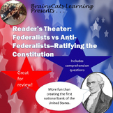 Reader's Theater: Federalists vs Anti-Federalists -- Ratif