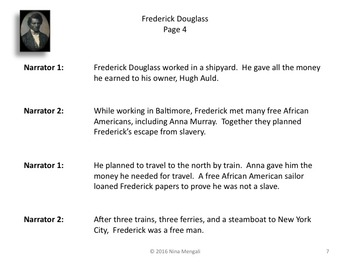 Reader's Theater Frederick Douglass Black History Great Non-Fiction!