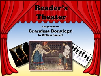 Reader's Theater GRANDMA BONYLEGS Great for Gradparents Day!