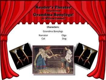Reader's Theater GRANDMA BONYLEGS Great for Gradparents Day! FUN!!