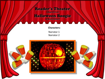 Reader's Theater HALLOWEEN BOOGIE: A HALLOWEEN STORY IN RHYME!  Great Fun!