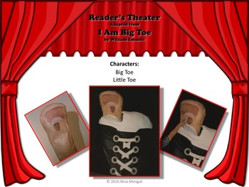 Reader's Theater  I AM BIG TOE - Absolutely HILARIOUS! Readers will LOVE it!