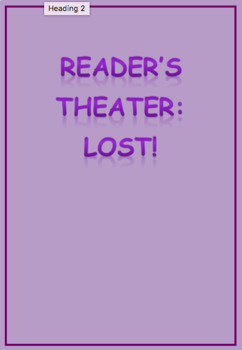 Reader's Theater: Lost!
