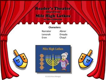 Reader's Theater MILE HIGH LATKES: A HANUKKAH STORY!