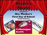 Reader's Theater MRS. WONKER'S FIRST DAY OF SCHOOL! - Great for Back to School