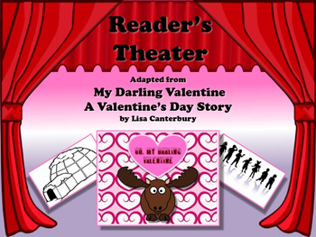 Reader's Theater MY DARLING VALENTINE - A Moose's Valentine's Day Story!!