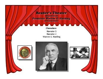 Reader's Theater PRESIDENT WARREN G. HARDING 29th US President Great Nonfiction!