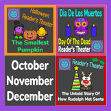 Reader's Theater Pack October, November and December