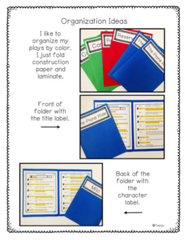 Reader's Theater - Partner Plays for Advanced Readers {Any Time}