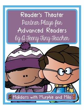 Reader's Theater - Partner Plays for Advanced Readers {Holidays with M&M}