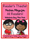 Reader's Theater - Partner Plays for All Readers {Valentine Mini Pack}