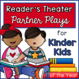 Reader's Theater - Partner Plays for Kinder Kids! {Any Time Edition}