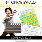 Reader's Theater-Phonics Centers-Long Vowel A-Fluency Practice